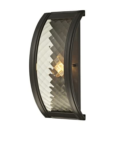 Artistic Lighting Chandler Collection 1-Light Sconce, Oil Rubbed Bronze