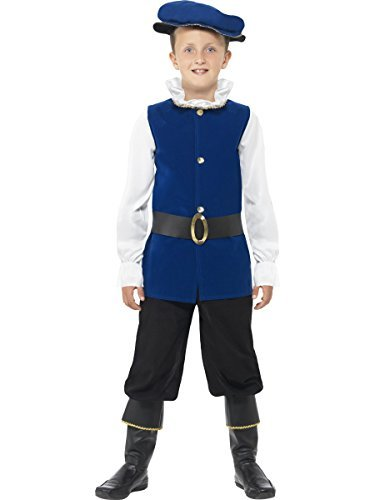 Big Boys' Tudor Boy Costume