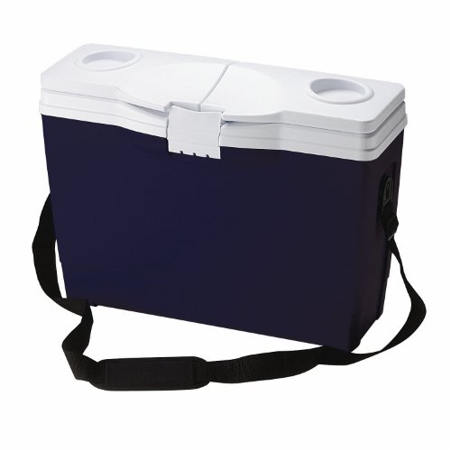 Rubbermaid Briefcase Cooler, 14-can, Blue (Travel Cooler Rubbermaid compare prices)