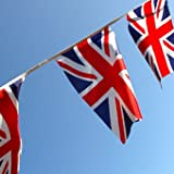 Union Jack Bunting 9metres/30ft Long with 30 Flagsby Klicnow