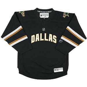 Dallas Stars NHL Boys Size 4-7 Reebok Hockey Jersey Black by Reebok