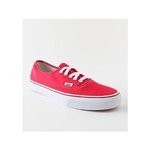 Vans Authentic Red Sneaker