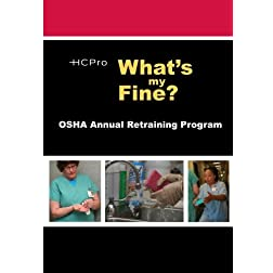 What's My Fine?: OSHA Annual Retraining Program