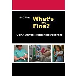 What's My Fine?: OSHA Annual Retraining Program
