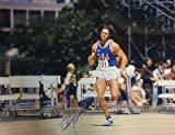 Bruce Jenner Autographed Olympic Decathlon Gold Medalist 16x20 Photo Blue Jersey - Autographed Sports Photos