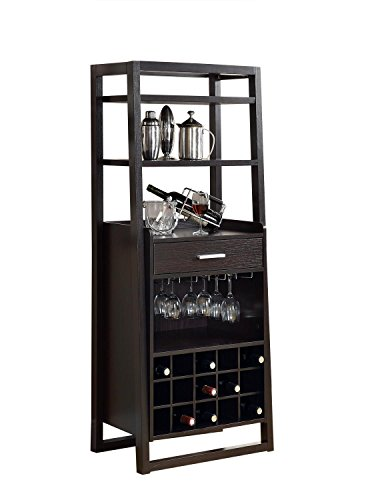 Monarch Specialties Cappuccino Finish Bar Ladder (Bar Hutch compare prices)