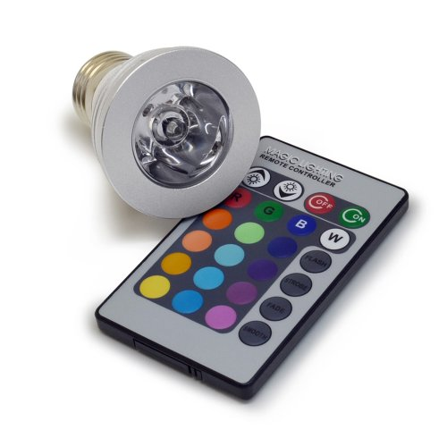 Led Color Changing Bulb With Remote