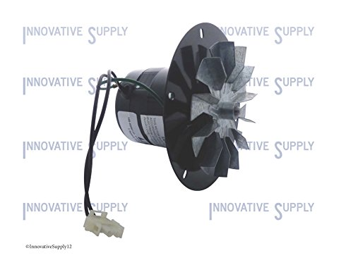 Pellet Stove Blower Motor, 1/14Hp, 3000Rpm, 0.6 Amps. 115 Volt Rotom Replacement # Hb-Rbm120