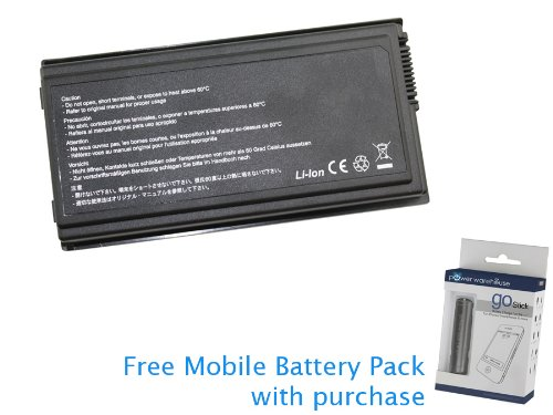 Click to buy Asus F5M-AP023 Battery 56Wh 5200mAh (Extended Capacity) with free Mobile Battery Pack - From only $19.99