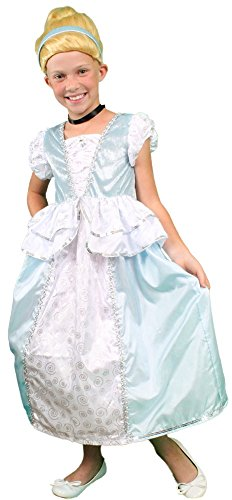 My Costume Wigs Cinderella Dress and Wig Set