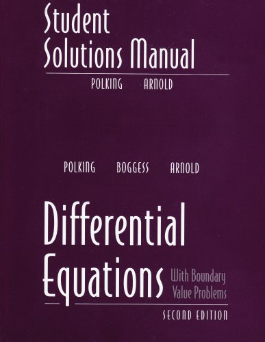 Geometry pure and applied math books differential equations student solutions manual for differential fandeluxe Gallery