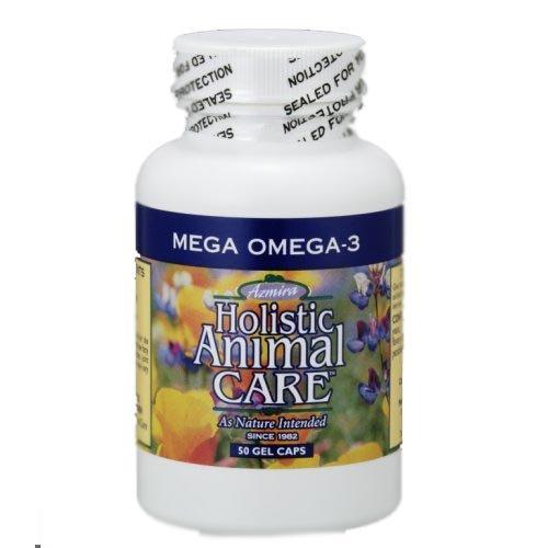 Azmira(アズミラ) 脂肪酸サプルメント メガオメガ3(純粋なフィッシュオイル) 50カプセル