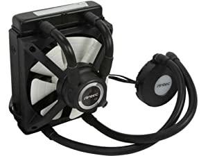 Antec H2O Kuhler 650 Water Cooling Kit with PWM Fan, RGB LED Temperature Sensor
