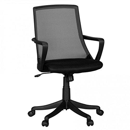 preisvergleich finebuy b rostuhl ivan schwarz schreibtischstuhl willbilliger. Black Bedroom Furniture Sets. Home Design Ideas