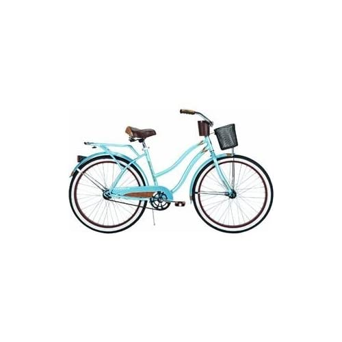 Amazon.com : Huffy Women's Ocean Deluxe Bike (Blue Metallic, Large/26