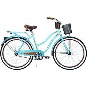 Huffy Women's Ocean Deluxe Bike (Blue Metallic, Large/26-Inch)