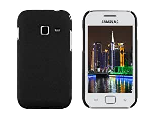 New Quicksand Anti-slip Hard Case Back Cover for Samsung Galaxy Ace Duos S6802 (Black)