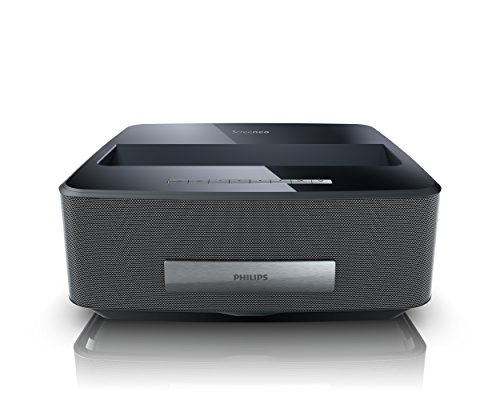 Philips Hdp1590/F7 Screeneo Smart Led Home Theater Ultra Short Throw Wireless Projector (Black)