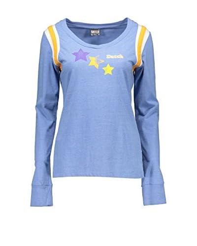 DATCH Camiseta Manga Larga Azul Claro