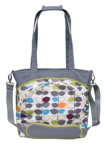 JJ Cole Mode Diaper Tote Bag, Mixed Leaf (Discontinued by Manufacturer) - 1
