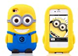 New Despicable Me 2 Minion Soft Silicone Case for Apple iPhone 4 & 4S - Dave
