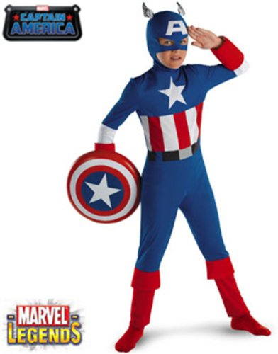 Captain America Classic Kids Costume