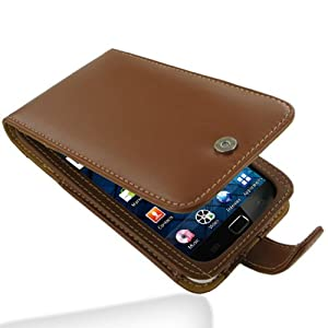 Leather Case for Samsung Galaxy S WiFi 5.0 YP-G70 / Galaxy Player 5.0