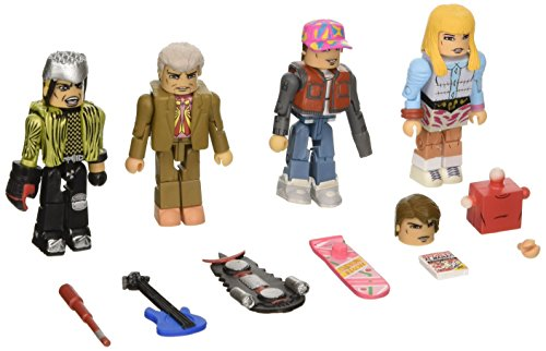 Diamond Select Toys Back to the Future: 30th Anniversary 2015 Hill Valley Minimates Box Set Action Figure