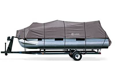 Classic Accessories Pontoon Boat Cover - Charcoal