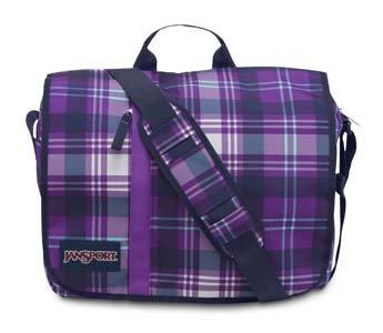 JanSport Market Street Backpack, Purple Night Preston Plaid image