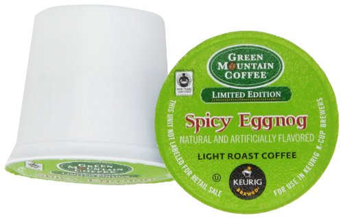 Green Mountain Coffee Fair Trade Spicy Eggnog, K-Cup Portion Pack For Keurig Brewers 24-Count front-563579