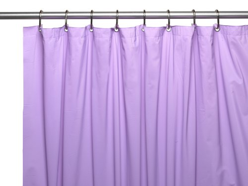 Carnation home fashions shower curtain liner 25