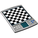 Chess Power Brain Voice Chess Academy, Includes Training Package,and 14 in 1 Games, 7 Popular Board Games and 6 Puzzels, Checkers (Draughts), Reverse, Halma, 4-in-a-row, Nim,fox,& Geese and Northcote Puzzles: Tracker, Switch, Pegs, Pairs, Matching and Shuffle