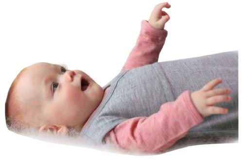 Cocooi Merino Baby Sleeping Bag For Newborn Babies 0-3 Months, Turtle Dove front-854285