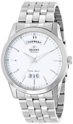 Orient Men's FEV0S003W0 Union Analog Display Japanese Automatic Silver Watch