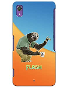 Zootopia Sloath Flash case for Sony Xperia Z2