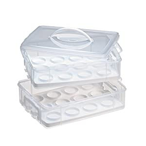 Snapware 6032 Large 2 Layer-Cupcake Keeper
