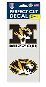 Missouri Tigers Set Of 2 Die Cut Decals