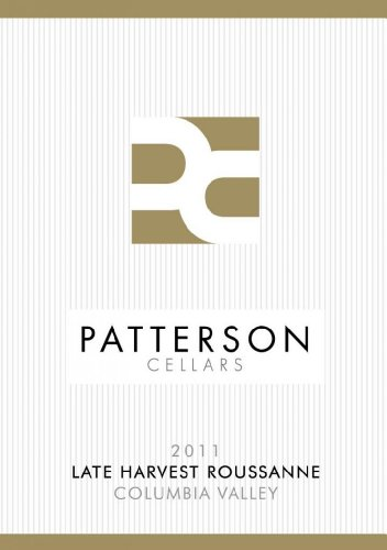2012 Patterson Cellars Columbia Valley Late Harvest Roussanne 750 Ml