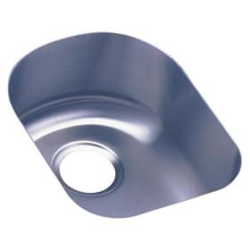 Elkay ELU1317 Harmony Lustertone Undermount Sink, Stainless Steel
