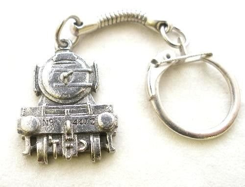 Solid Pewter Flying Scotsman Steam Train Keychain (Steam Tram compare prices)