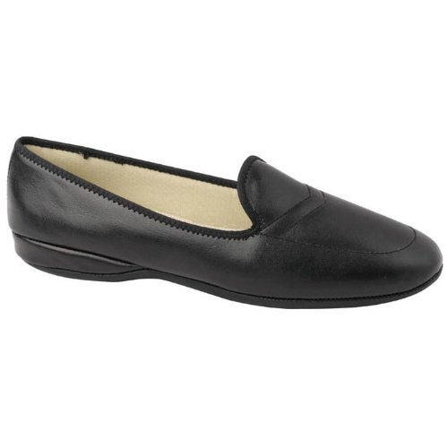 Daniel Green Women's Meg Slipper,Black,9 M