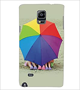 SAMSUNG GALAXY NOTE 4 KIDS Designer Back Cover Case By PRINTSWAG