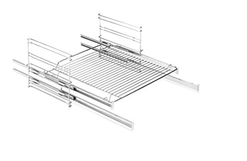 Amica 83 Backofen und Herdzubehör / Kochfeld / Exklusivartikel für den Einbaubackofen EBS 13530 / Seitengitter mit 2 fach Teleskopauszügen, Vollauszüge