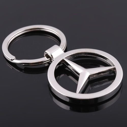 Stainless Steel Chromed Mercedes Benz Keychain (Mercedes Benz Ring compare prices)