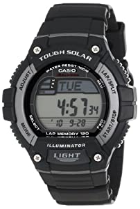 "Casio Men's WS220-1A ""Tough Solar"" Runner's Watch"