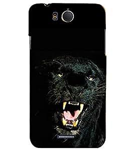 PRINTSHOPPII BLACK PANTHER Back Case Cover for InFocus M530
