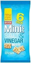 Crisps Ryvita Minis Salt amp Vinegar 6X6X24G