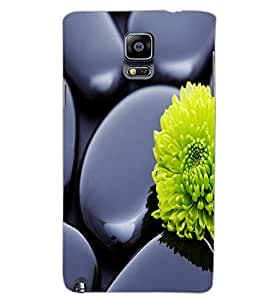 SAMSUNG GALAXY NOTE 3 FLOWER Back Cover by PRINTSWAG