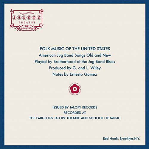 Vinilo : BROTHERHOOD OF THE JUG BAND BLUES - American Jug Band Songs Old And New